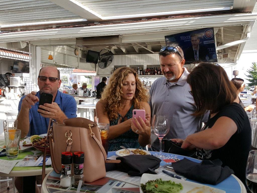 Tracy & Kristen Olsen, Rob Norman and Carmen Bailey