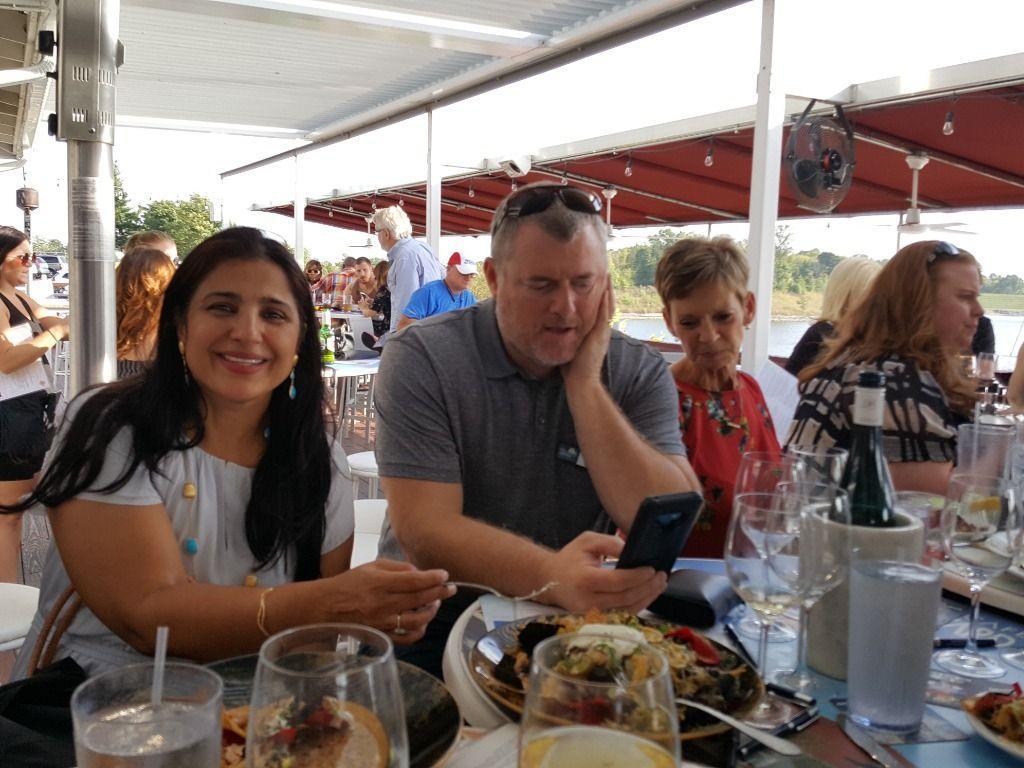 Beeun Sikand, Keven Burgess and Robin Matlock
